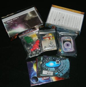 Tiny Epic Galaxies Box Contents