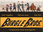 Burgle Brothers box image for board game review