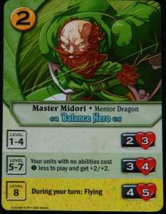 Codex Master Midori card example