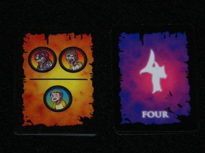Zombie tower 3d Floor cards