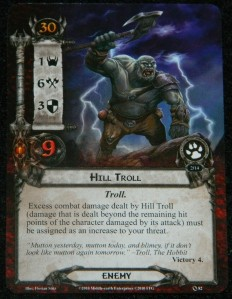 Lord of the Rings LCG Hill Troll for COG Gaming