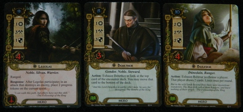 COG Gaming Denethor, Legolas, and Beravor