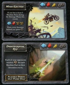 Boost card examples for Steampunk Rally