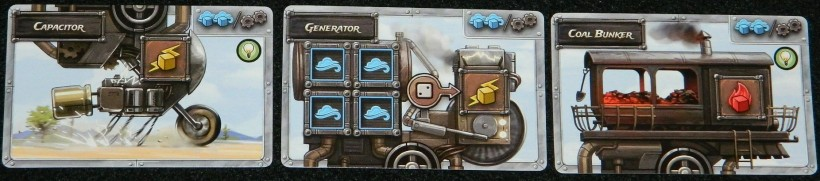 Steampunk Rally silver border examples