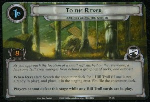 Lord of the Rings LCG To The River card for Journey Along the Anduin