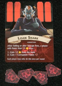 Vault Wars loan shark example for COG Gaming review
