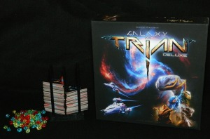Galaxy of Trian game box for COG Gaming board game review