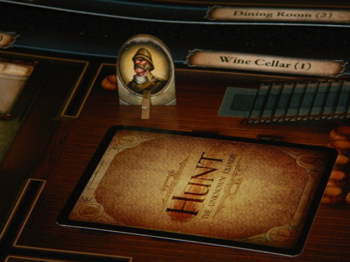 COG Gaming Hunt: The Unknown Quarry board game review photo of hunter