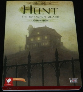 Hunt: The Unknown Quarry Box for COG Gaming board game review