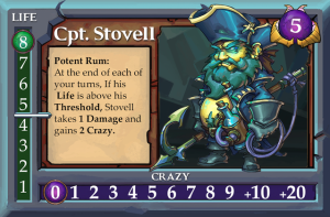 Captain Stovell from Clash of the Battle Goats