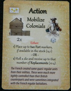 Action card for Empires in America