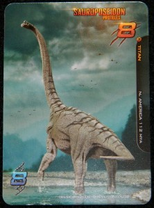 TItan dinosaur example from Apex Theropod second edition