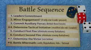Empires in America Battle Sequence