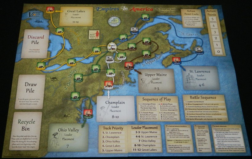 Empires in America full board
