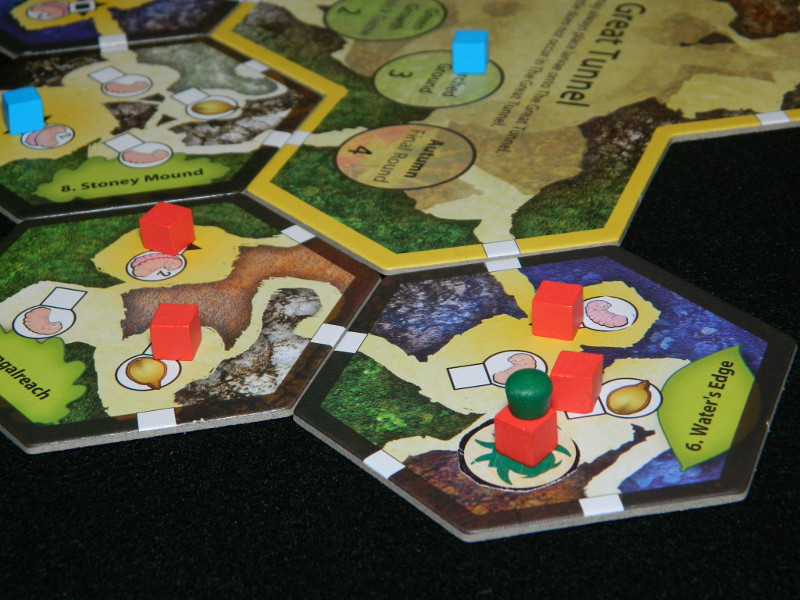 Aphids mechanic for March of the Ants: Minions of the Meadow expansion board game review.