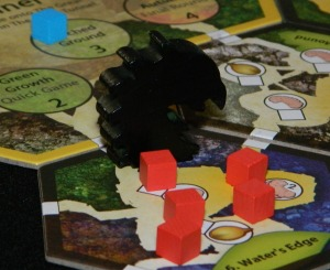 Black Centipede for March of the Ants board game review.