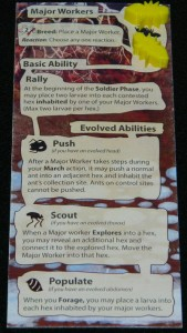 Major Worker example for Minions of the Meadow expansion for March of the Ants.